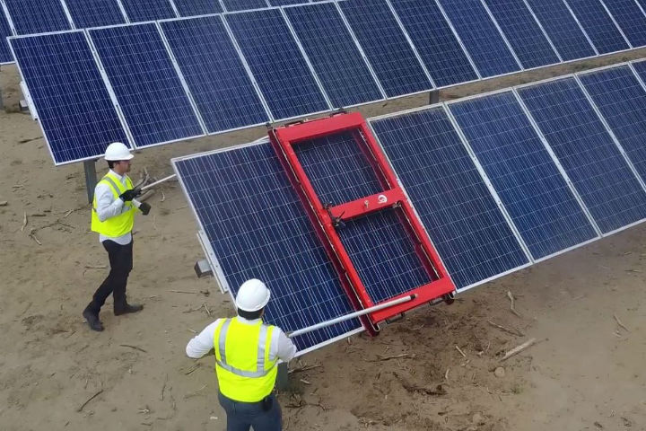 Solar Panel Cleaning for New Power Plants a Must